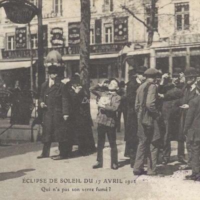 ELD - Eclipse de Soleil du 17Avril 1912 - Qui n'a pas son verre fumé