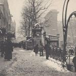 ELD - Effets de Neige - Les Grands Boulevards - Porte Saint-Denis