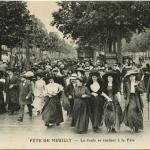 ELD - FÊTE DE NEUILLY - La foule se rendant à la Fête