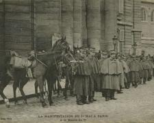 ELD - PARIS - Manifestation du 1er Mai - A la Mairie du V°