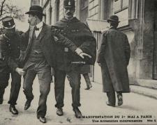 ELD - PARIS - Manifestation du 1er Mai - Une arrestation mouvementée