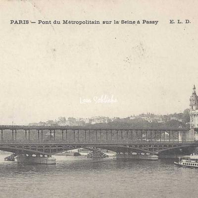 ELD - Pont du Metropolitain sur la Seine à Passy