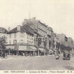 EM 1101 - Vincennes - Avenue de Paris - Place Bérault