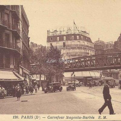 EM 120 - Carrefour Magenta-Barbès
