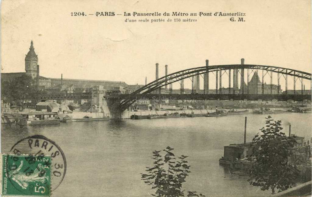 Usines Electriques Du Metro Quai De Bercy