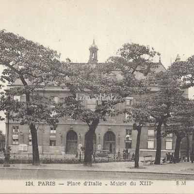 EM 124 - Place d'Italie - Mairie du XIII°