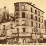 EM 164 - Rue d'Avron au coin Rue des Pyrénées