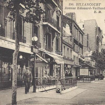 EM 190 - Avenue Edouard-Vaillant