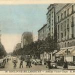 EM 36 - Boulogne-Billancourt - Avenue Victor-Hugo (Colorisée)