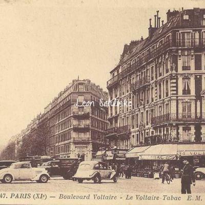 EM 47 - Boulevard Voltaire, le Tabac Voltaire