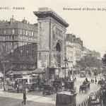 EM 5027 - Boulevard et Porte St-Denis