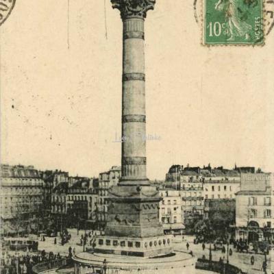 EM 5042 - Place de la Bastille - Colonne de Juillet