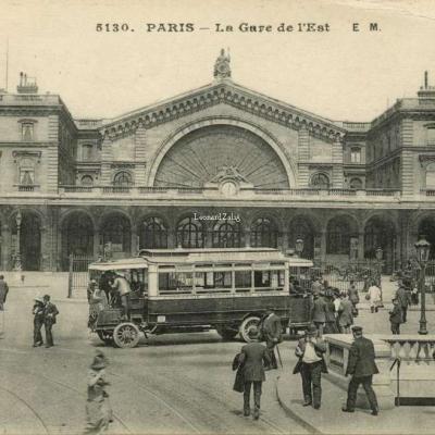 EM 5130 - PARIS - La Gare de l'Est