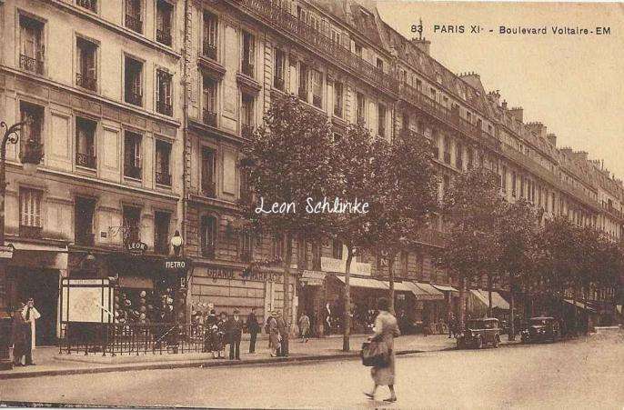 EM 83 - Boulevard Voltaire