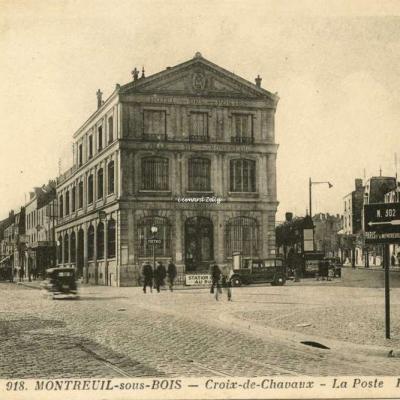EM 918 - Montreuil-sous-Bois - La Croix de Chavaux - La Poste