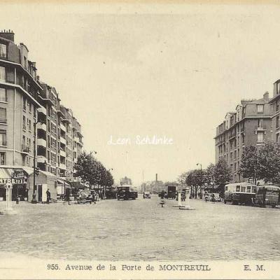 EM 955 - Avenue de la Porte de Montreuil
