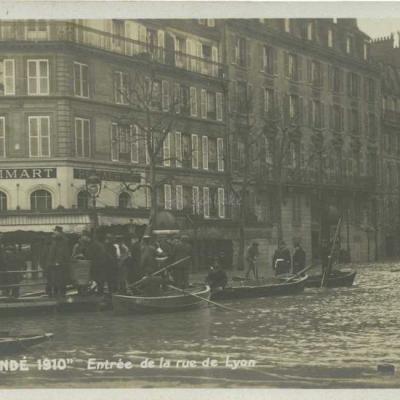 Entrée de la rue de Lyon