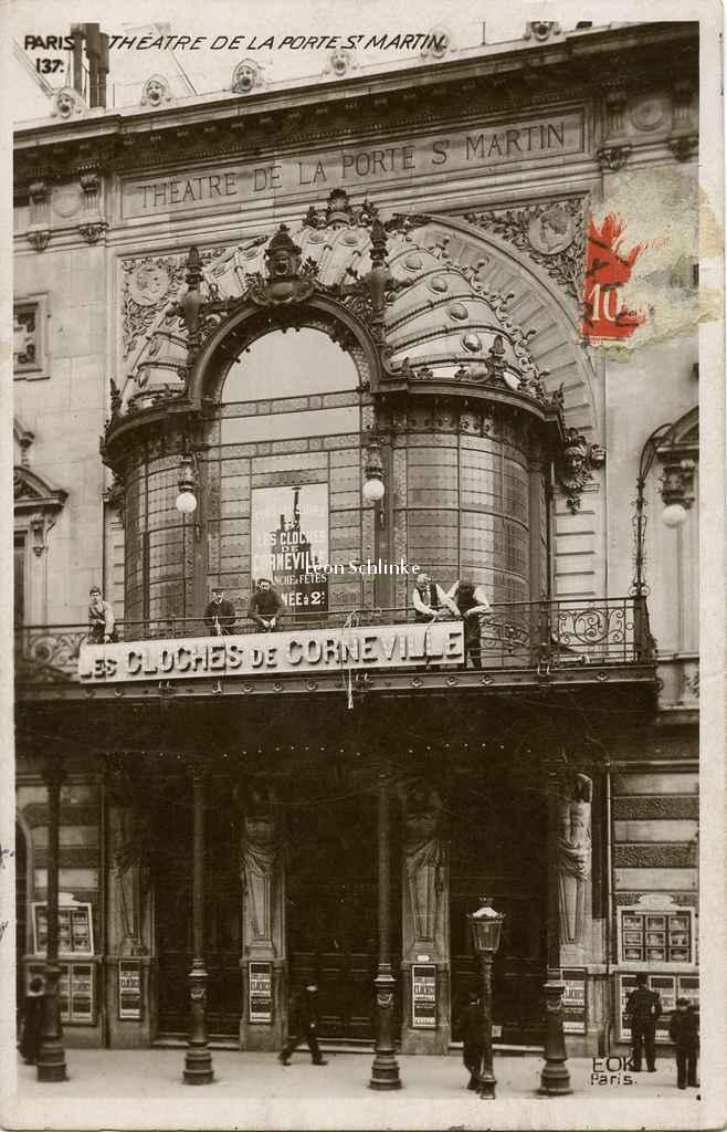 Theatre de la porte st martin - Theatre porte saint martin ...