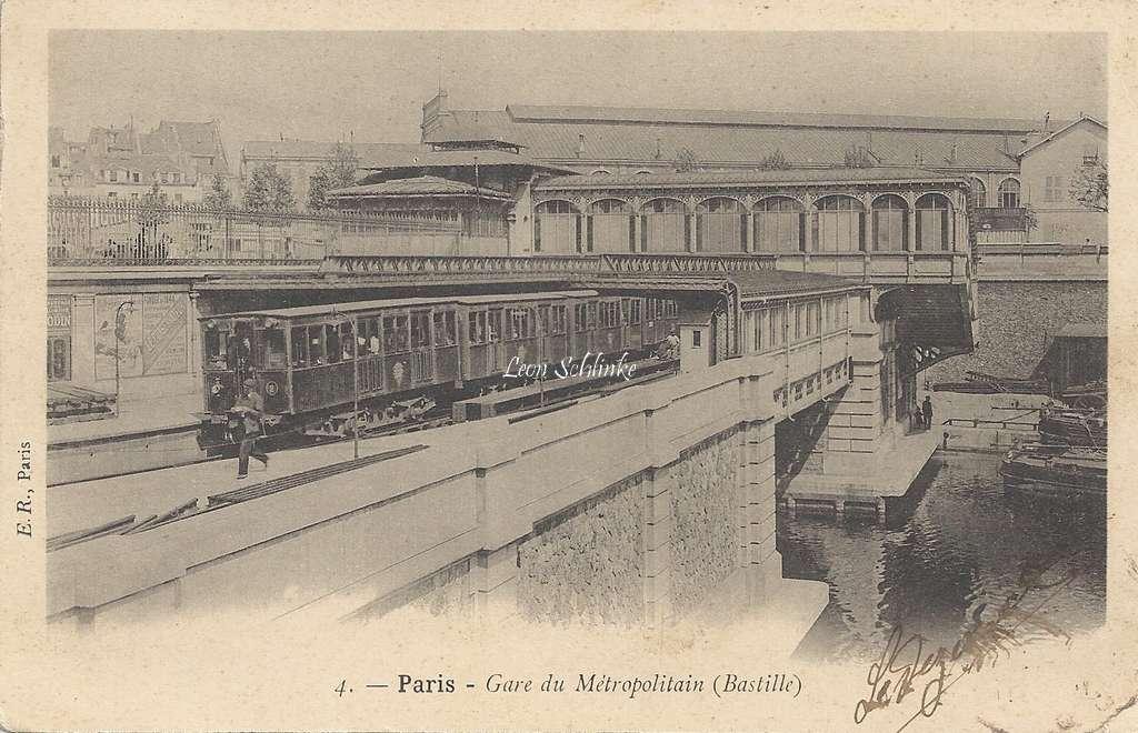 ER 4 - Gare du Metropolitain (Bastille)