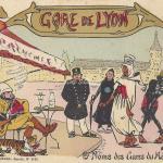ER - Une Arrivée de Marseillais et d'Africains à Paris - Gare de Lyon