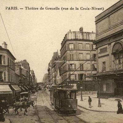 ES 2083 - PARIS - Théâtre de Grenelle (rue de la Croix-Nivert)