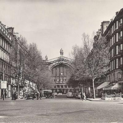Estel 22323 - Boulevard Denain.Au fond la Gare (10x15cm)