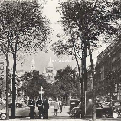 Estel 22338 - Boulevard des Batignolles - Au loin, le Sacré-Coeur