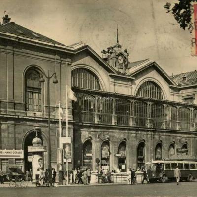 Estel 243 - Paris - La Gare Montparnasse et la Place de Rennes
