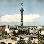 ESTEL 245 - PARIS - Place de la Bastille et Colonne de Juillet