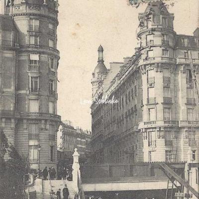 EV 22 - Rue Alboni - Station du Métro