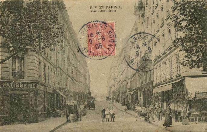 EV 233 - PARIS X° - Rue Chaudron