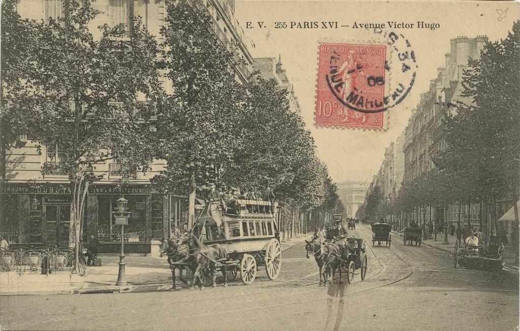 EV 255 - PARIS XVI - Avenue Victor-Hugo