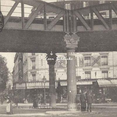 EV 267 - Le Métropolitain et la Rue d'Allemagne