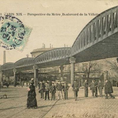 EV 271 - Perspective du Metro, Boulevard de la Villette