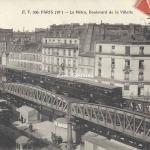 EV 336 - Le Métro, Boulevard de la Villette