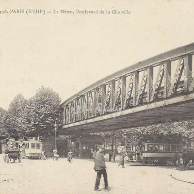 EV 456 - Le Métro, Boulevard de la Chapelle