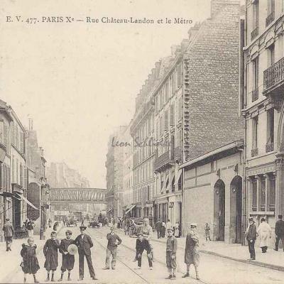 EV 477 - Rue Château·Landon et le Métro