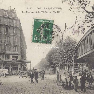 EV 566 - Le Métro et le Théâtre Molière