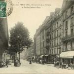 EV 670 - PARIS (X°) - Boulevard de la Villette et Station Aubervilliers