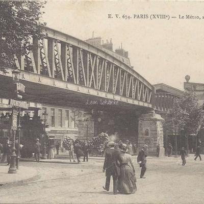 EV 674 - Le Metro, station Barbès