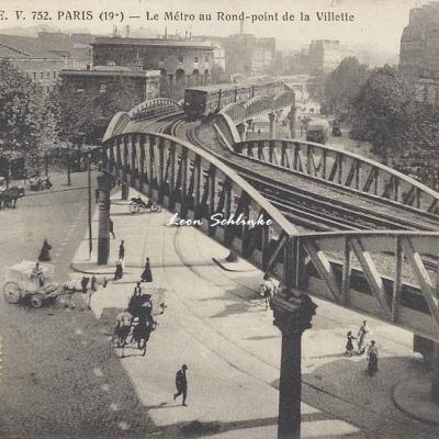 EV 752 - Le Métro au Rond-point de la Villette