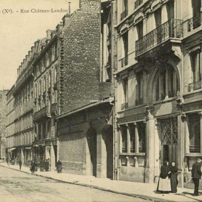 EV 806 - PARIS - Rue Château-Landon