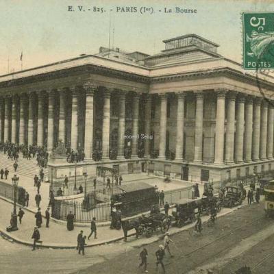 EV 825 - PARIS (Ier) - La Bourse