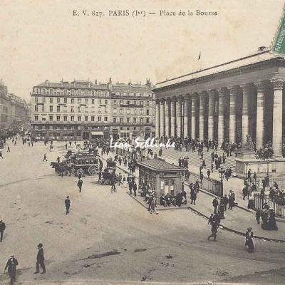 EV 827 - Place de la Bourse