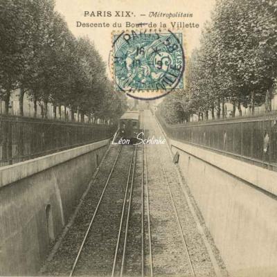 EV - Descente du Boulevard de la Villette