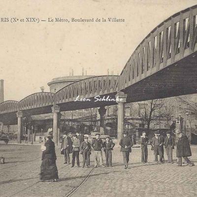 EV - Le Métro, Boulevard de la Villette