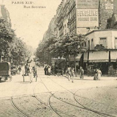 EV - PARIS XIX° - Rue Secrétan