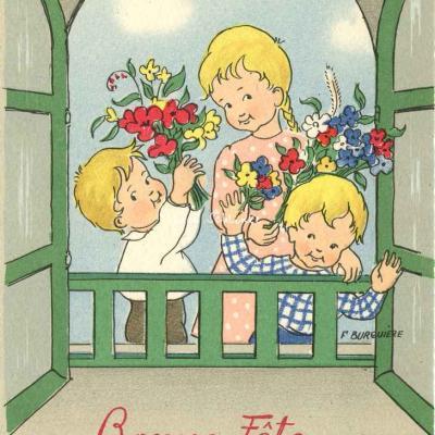 1465 - Bonne Fête Maman