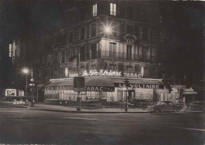 F.G. editions - ''Le Voltaire'' Tabac P.Baulez