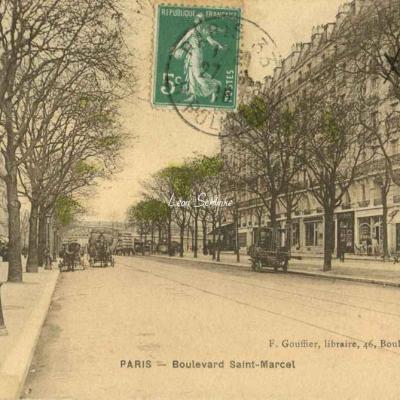 F. Gouffier, libraire - Boulevard Saint-Marcel